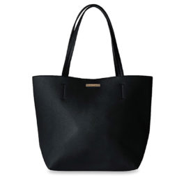 Katie Loxton Parker Shopper Bag Black