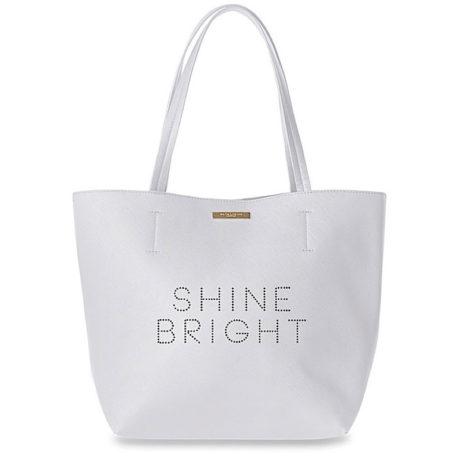 Katie Loxton Shine Bright Parker Shopper Bag Soft Grey