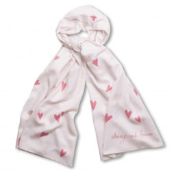 Katie Loxton Always And Forever Scarf Pink