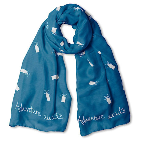 Katie Loxton Adventure Awaits Navy Scarf
