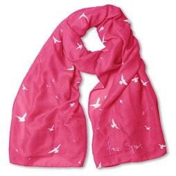 Katie Loxton Free Spirit Scarf Fuchsia Pink