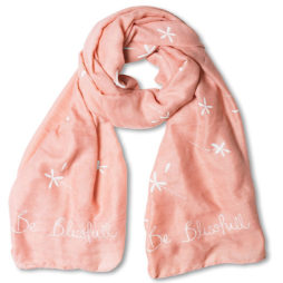 Katie Loxton Be Blissfull Scarf Pale Pink *