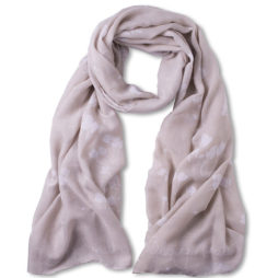 Katie Loxton Blooming Marvellous Scarf Stone Grey