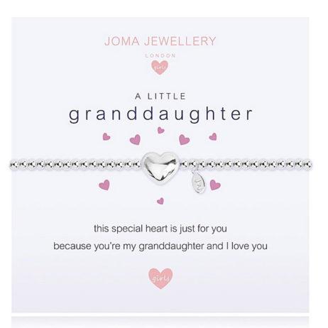 Joma Jewellery Girls a little Granddaughter Bracelet C395