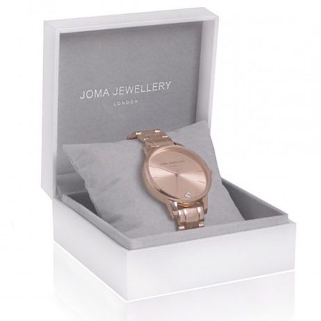 Joma Jewellery Rose Gold Piper Watch JJW004