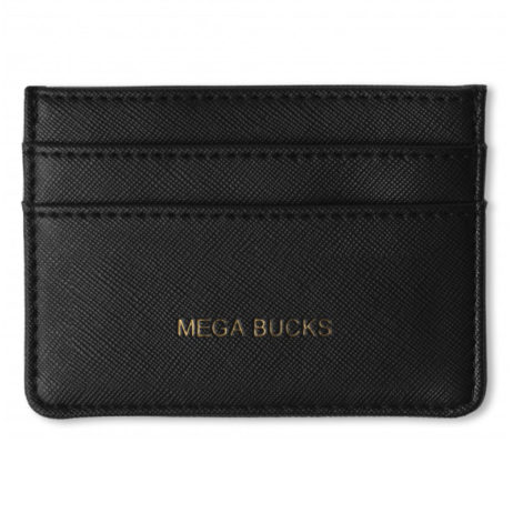 Katie Loxton Card Holder Black Mega Bucks - EOL
