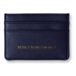 Katie Loxton Card Holder Navy Money Money Money