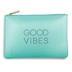 Katie Loxton Good Vibes Polka Pouch Mint