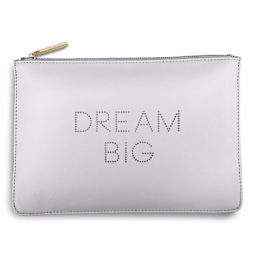 Katie Loxton Dream Big Polka Pouch Lilac