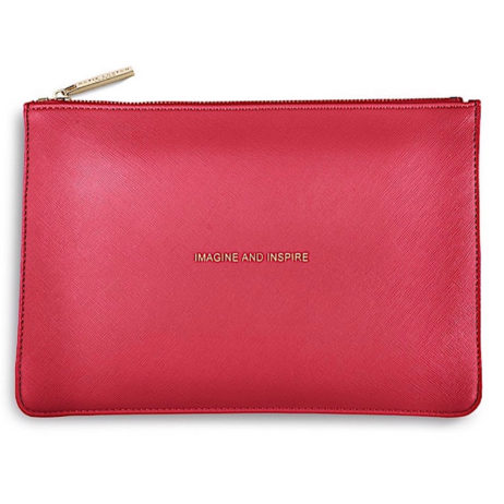 Katie Loxton Imagine And Inspire Pouch Metallic Watermelon