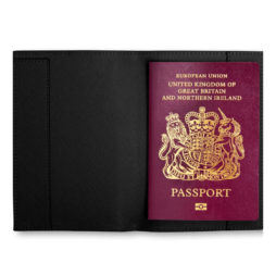 Katie Loxton JET SET GO Passport Holder Black