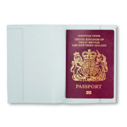 Katie Loxton JET SET GO PASSPORT HOLDER pale blue