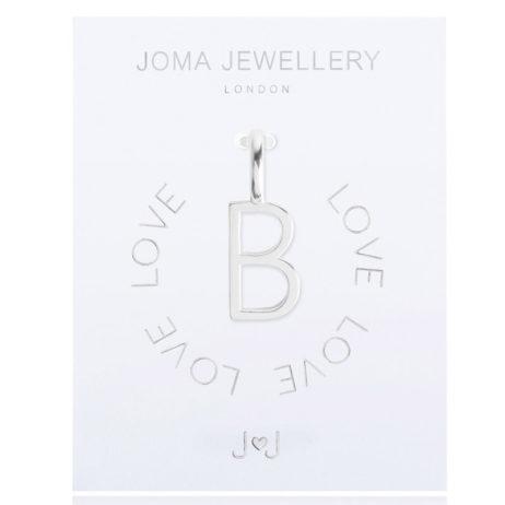 Joma Jewellery #MYJOMA Alphabet Charm Silver