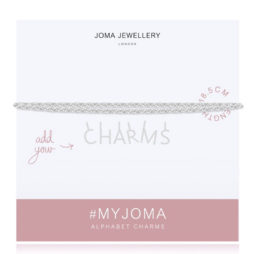 Joma Jewellery #MYJOMA Alphabet Base Silver Bracelet