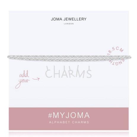 Joma Jewellery #MYJOMA Alphabet Base Silver Bracelet 2026