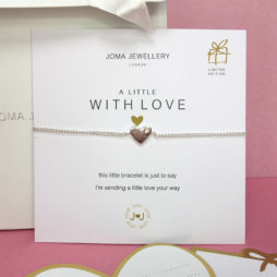 Joma Jewellery a little With Love Silver Heart Cleo Bracelet