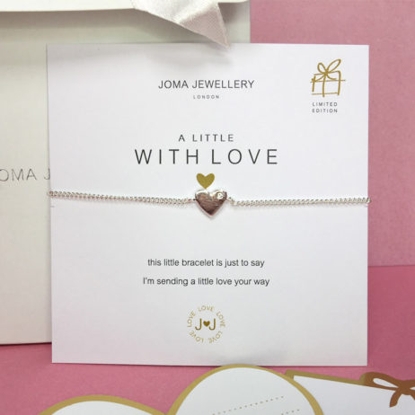 Joma Jewellery a little With Love Silver Heart Cleo Bracelet 894