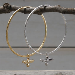 Danon Jewellery Mini Honey Bee Bangle Gold