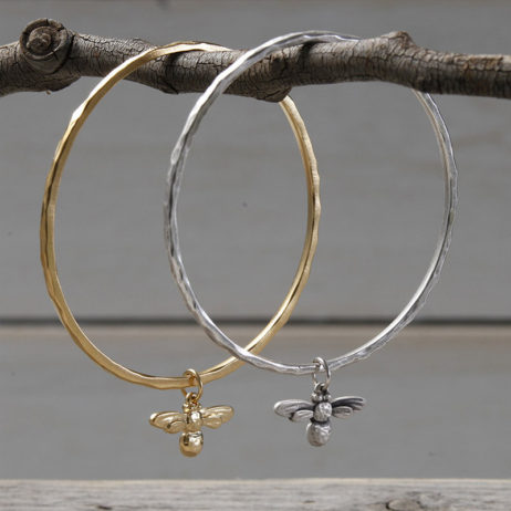 Danon Jewellery Mini Honey Bee Bangle Gold *