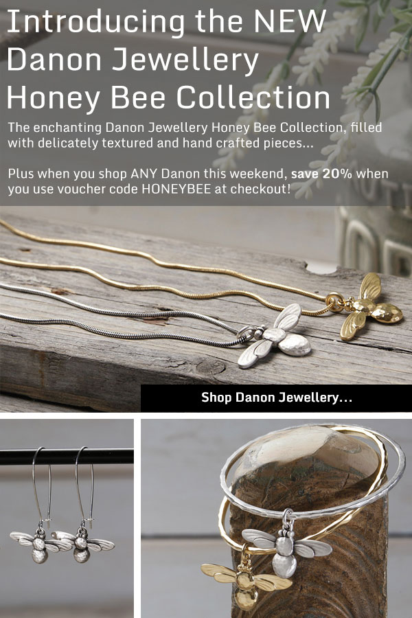 Danon Jewellery Honey Bee Collection