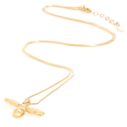 Danon Jewellery Long Honey Bee Necklace Gold