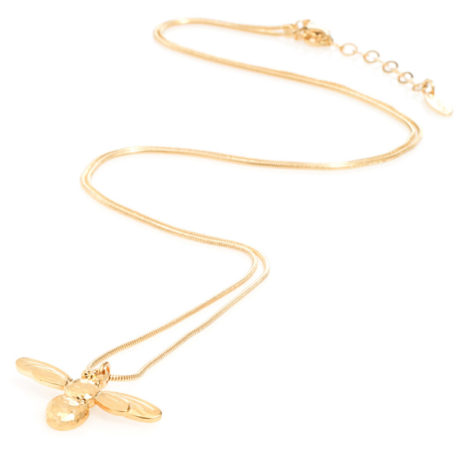 Danon Jewellery Long Honey Bee Necklace Gold