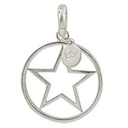 Sence Copenhagen Star Charm Worn Silver