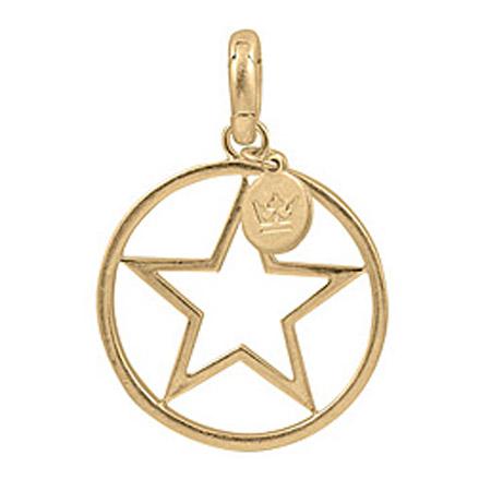 Sence Copenhagen Star Charm Worn Gold