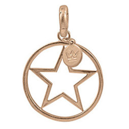 Sence Copenhagen Star Charm Worn Rose Gold