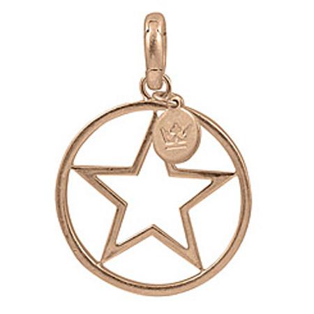 Sence Copenhagen Star Charm Worn Rose Gold