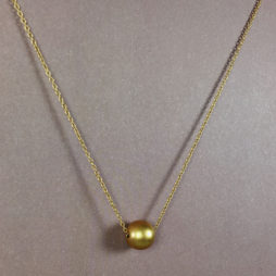 Hultquist Jewellery Gold Ball New Nordick Short Necklace 1284g