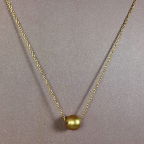 Hultquist Jewellery Gold Ball New Nordic Short Necklace