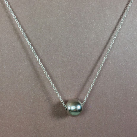 Hultquist Jewellery Silver Ball New Nordic Short Necklace