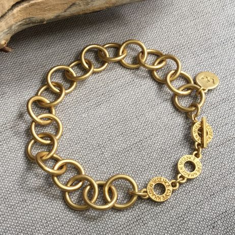 Sence Copenhagen Gold Be Dreamy Links Bracelet - EOL