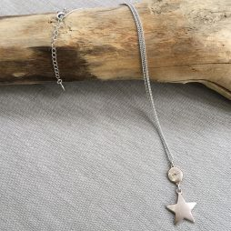 Hultquist Jewellery Moon and Stars Short Rose Gold Necklace