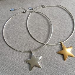 Hultquist Jewellery Necklace with Silver Star Pendant 1329BI