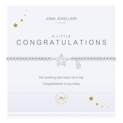 Joma Jewellery A Little Congratulations Silver Pave Bracelet 1927