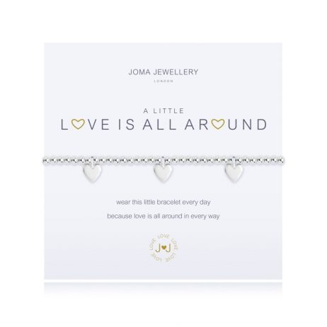 Joma Jewellery A Little Love Is All Around Silver Bracelet 1963