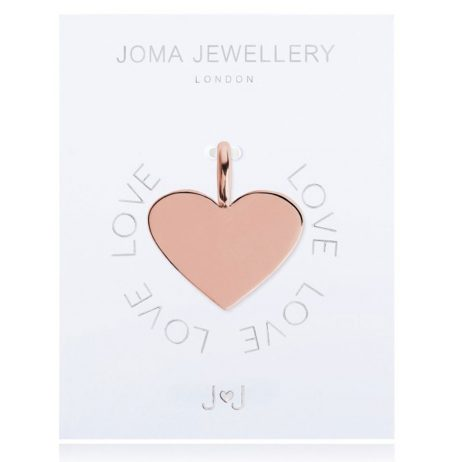 Joma Jewellery #MYJOMA Heart Charm Rose Gold 2054