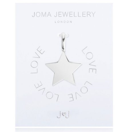 Joma Jewellery #MYJOMA Star Charm Silver 2055 *