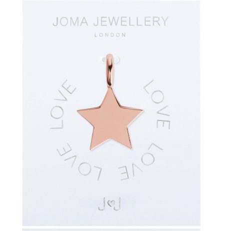 Joma Jewellery #MYJOMA Star Charm Rose Gold 2056