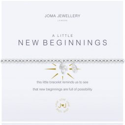 Joma Jewellery A Little New Beginnings Silver Bracelet 2105