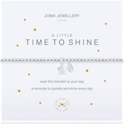 Joma Jewellery A Little Time To Shine Silver Bracelet 2107 EOL
