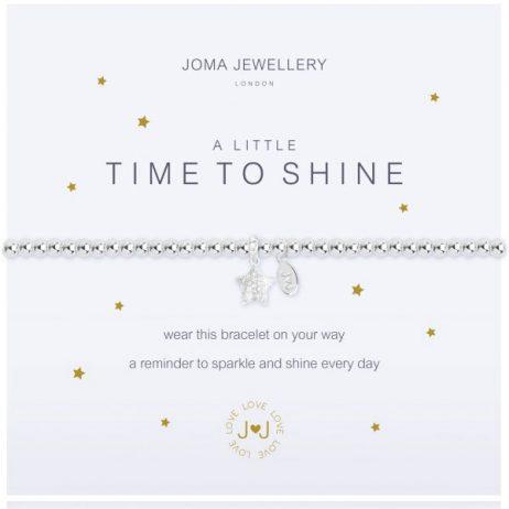 Joma Jewellery A Little Time To Shine Silver Bracelet 2107