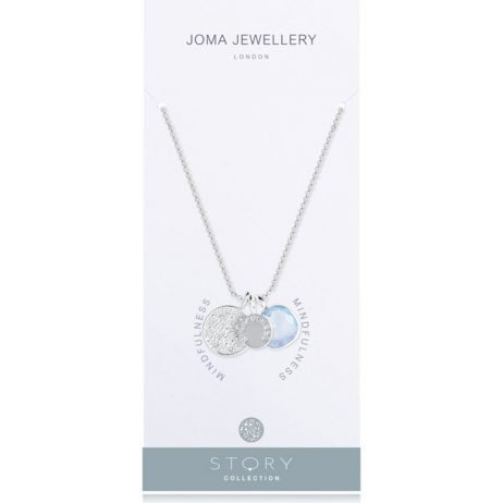 Joma Jewellery Story Mindfulness Charms Necklace 2259 - EOL