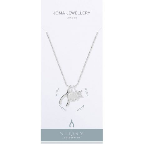 Joma Jewellery Story Wish Charms Necklace 2264