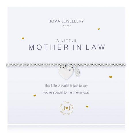 Joma Jewellery A Little Mother In Law Silver Bracelet 2269 EOL