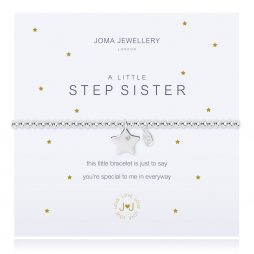 Joma Jewellery A Little Step Sister Silver Star Bracelet 2270