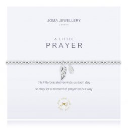Joma Jewellery A Little Prayer Silver Bracelet 2272