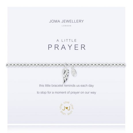 Joma Jewellery A Little Prayer Silver Bracelet 2272